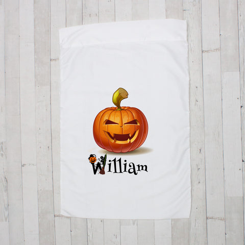 Jack O' Lantern Personalized Pillowcase