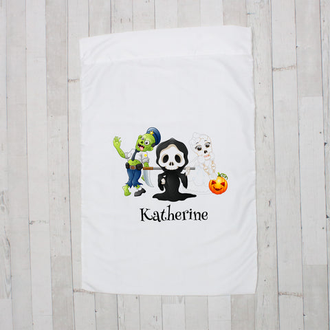 Halloween Trio Personalized Pillowcase