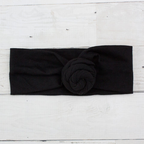 Soft Fabric Knot Turban Headband