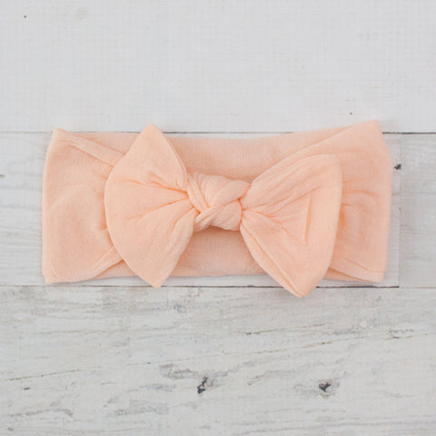 Soft Fabric Bow Headband