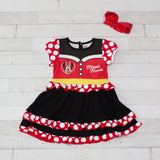 Girls Character Inspired Dress - Minnie Mouse