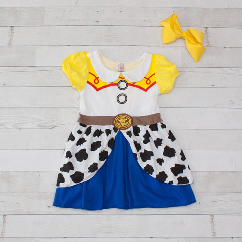 Girls Character Inspired Dress - Jessie