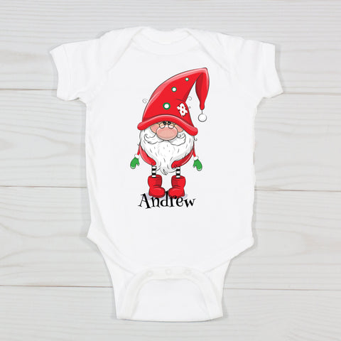 Silly Santa Personalized Bodysuit