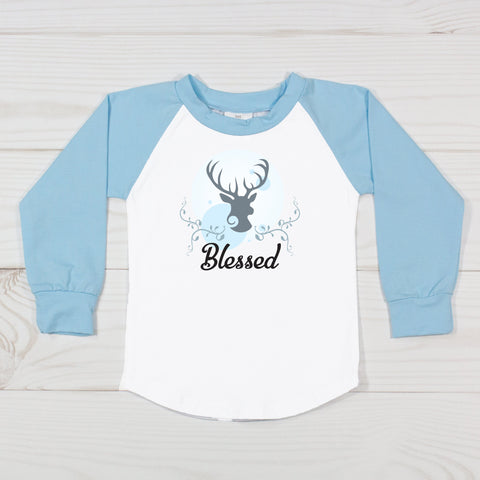 Blessed Deer Graphic T-Shirt
