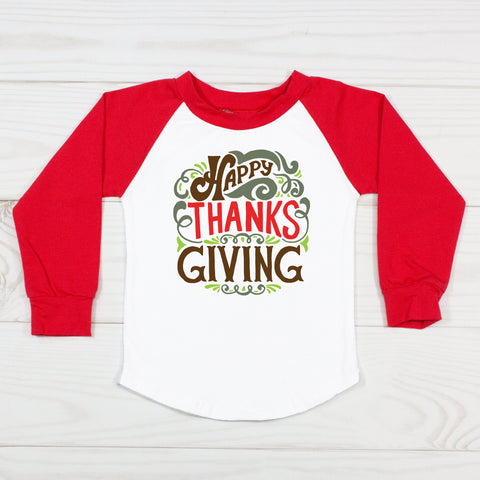 Happy Thanksgiving Graphic T-Shirt