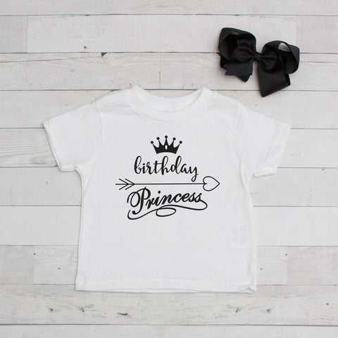 Birthday Princess - Birthday Graphic T-Shirt Set
