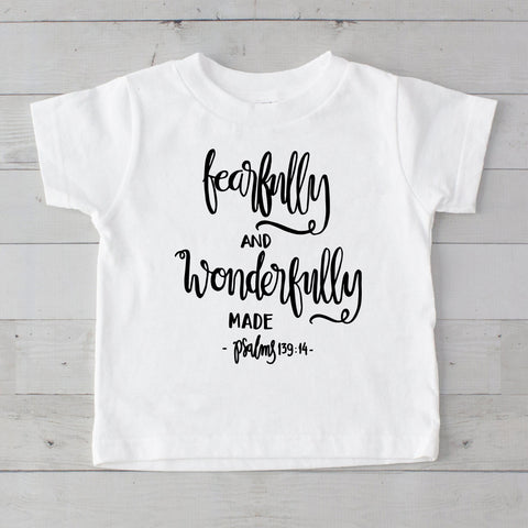 Fearfully and Wonderfully Made Graphic T-Shirt