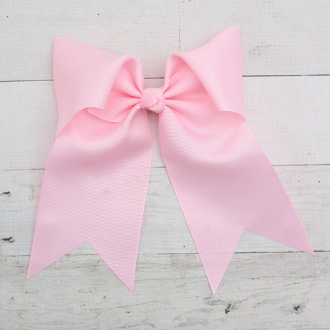 "6"" Long Tail Big Hair Bow - 5 Colors"
