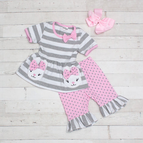 Bunny Hop 2 Piece Outfit - Top & Pants