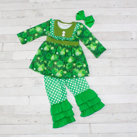A Wee Bit Irish 2pc A-Line Tunic Set - Top & Pants