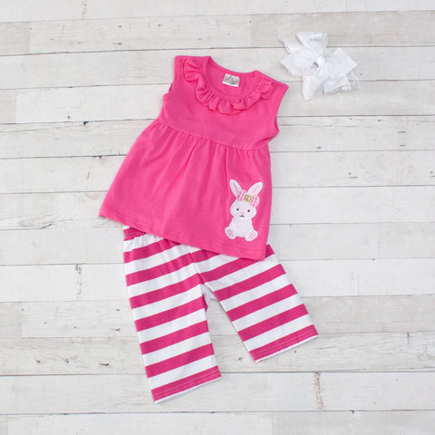 Bunny Baby 2 Piece Outfit - Top & Shorts