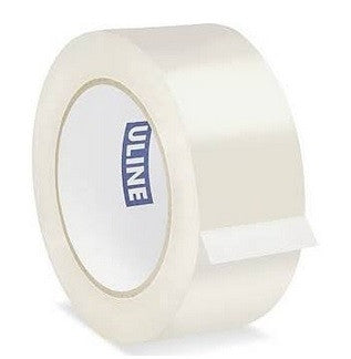 "Clear Shipping Tape - 2"" X 110 Yds (Per Roll)"