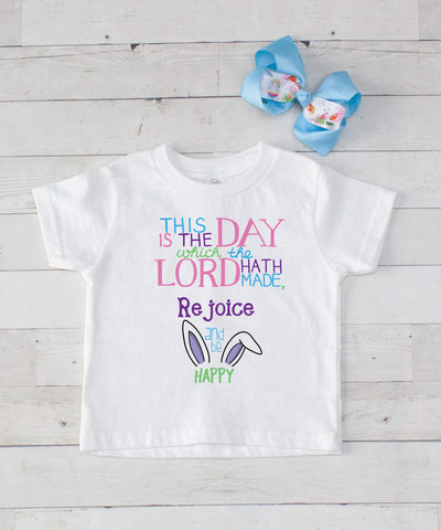 This is the Day - Graphic T-Shirt & Bow Set