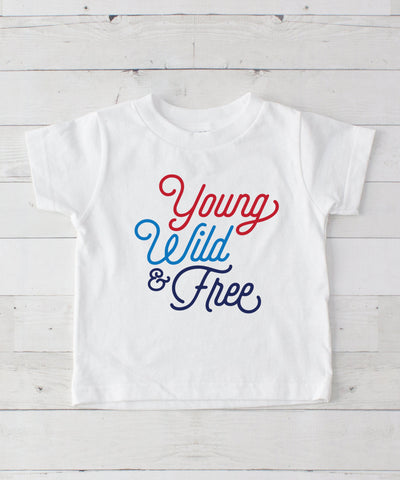 Young Wild & Free Graphic T-Shirt