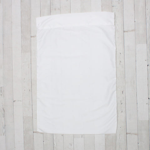 Plain White Pillowcase