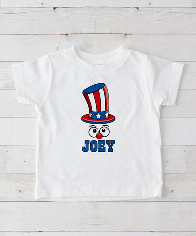 Uncle Sam Personalized Graphic T-Shirt