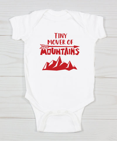 Tiny Mover Of Mountains Bodysuit