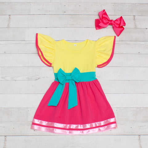 Girls Character Inspired Dress - Fancy Nancy
