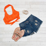 Summer Crop Tops - Halter