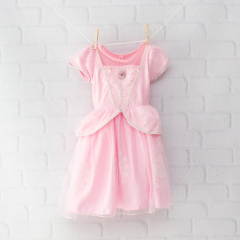 Character Inspired Princess Dress - Light Pink