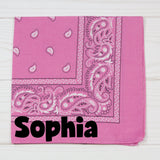 Western Design Personalized Pet Bandana - 11 Colors