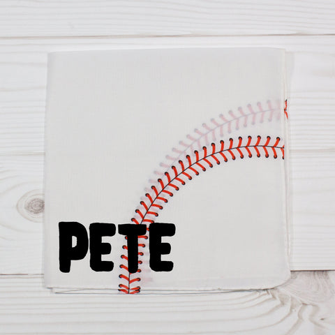 Baseball Personalized Pet Bandana