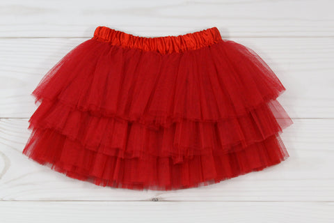 Triple Layer Elastic Dance Tutu