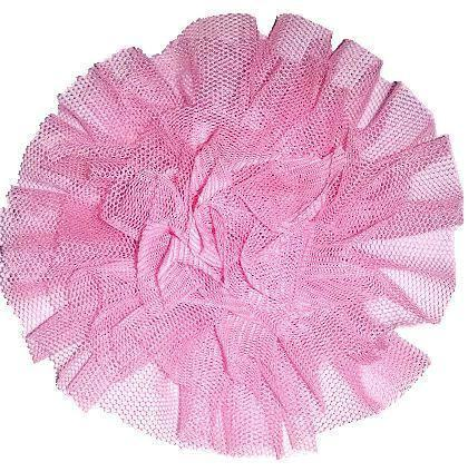 "Tulle Puff 4"" Flower Embellishment"