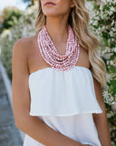 Strapless Ruffle Top - 5 Colors