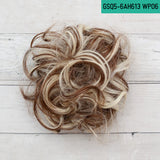 Messy Buns - Synthetic Hair Scrunchies - Hair with Highlights