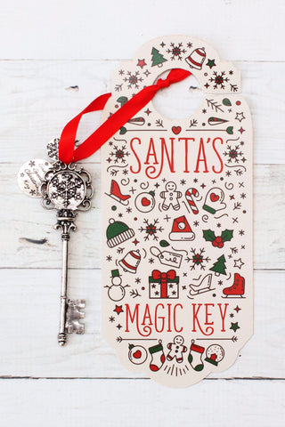 Santa's Magic Front Door Key