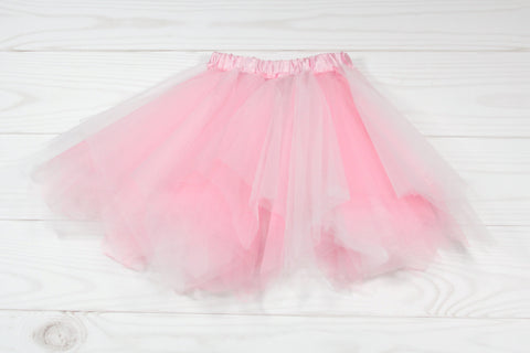 Girls Multicolored Elastic Dance Tutu
