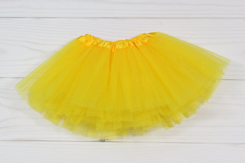 Infant Basic 3 Layer Tulle Dance Tutu