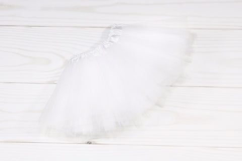 Girls Basic 3 Layer Tulle Dance Tutu