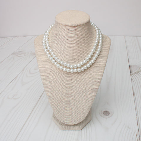 Pearl Necklaces - 11 Color Choices