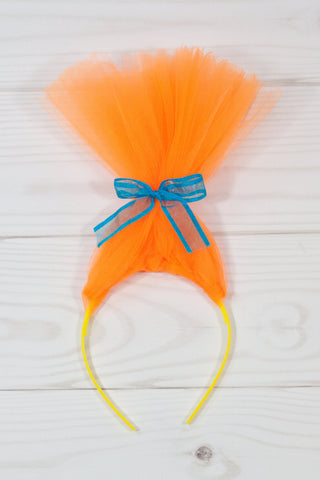 Troll Hair Headband with Bow