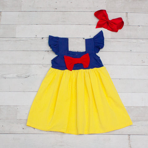 Red, Yellow & Blue Character Inspired Dress