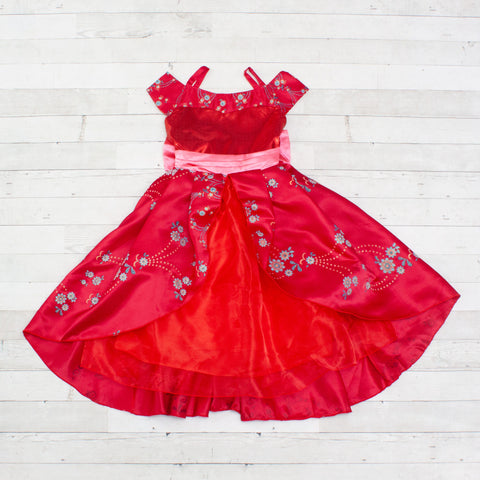Character Inspired Princess Dress - Red