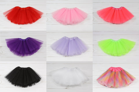 Tulle Dance Tutu - Assortment
