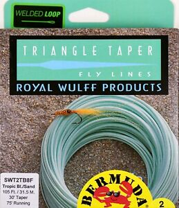 Royal Wulff Bermuda Triangle Taper 2 Tone