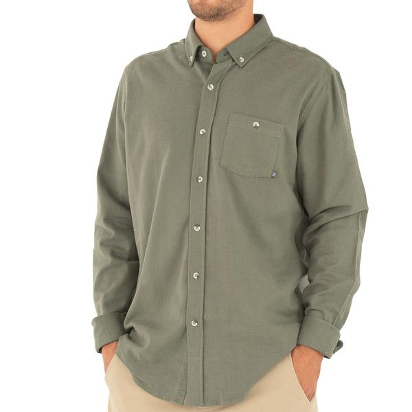 Free Fly Men's Flannel Bamboo Button-Up