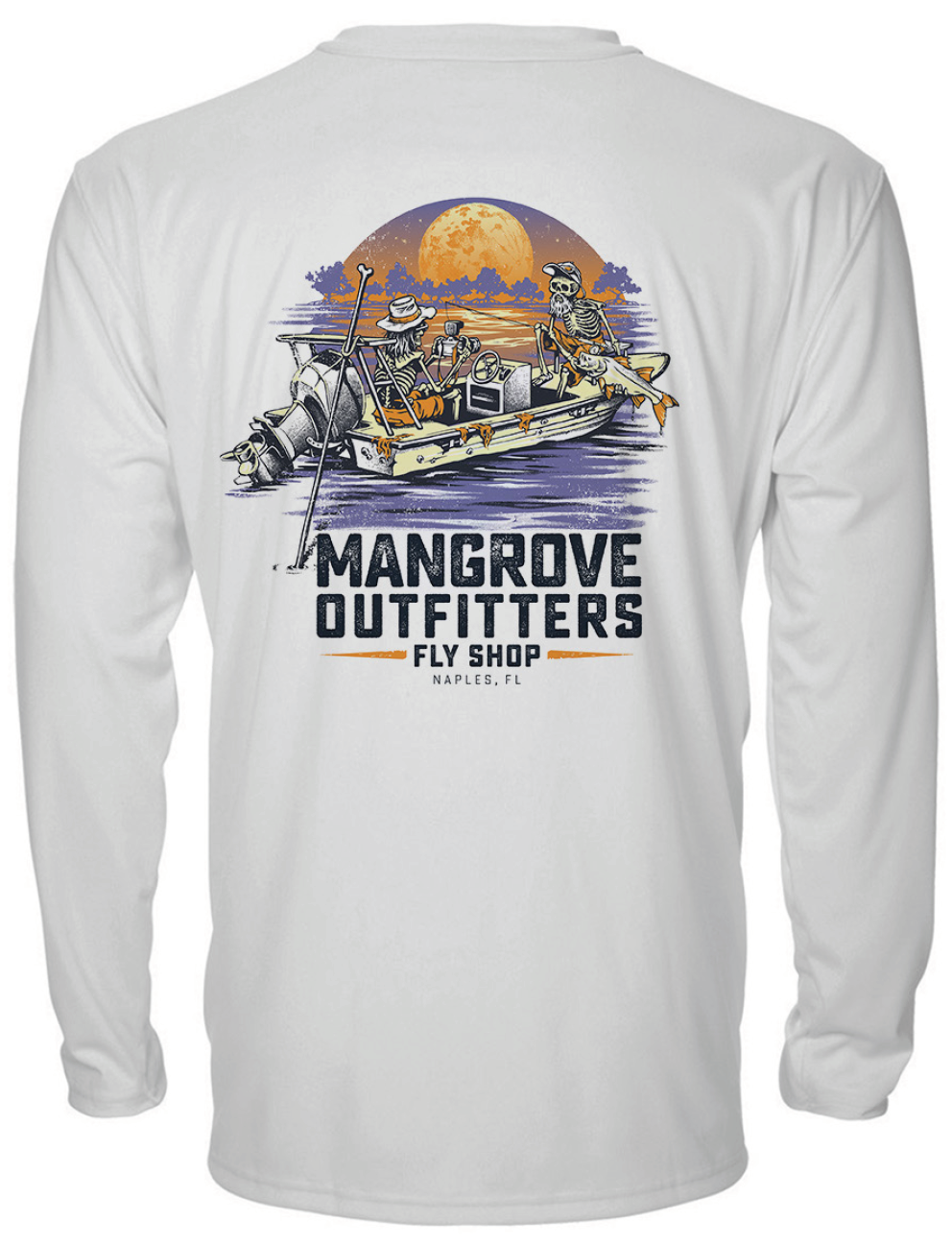 Mangrove Outfitters Early Morning Snook Performance Shirt - Crew Neck