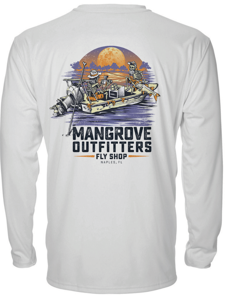Mangrove Outfitters Hooded Performance Shirt