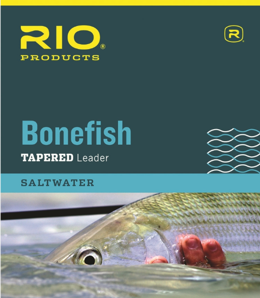 Rio Bonefish Leader 3-Pack