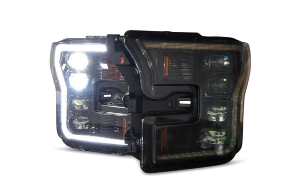 LED replacement headlight housings