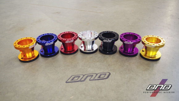 DND Performance: CNC Steering Wheel Hub Adapter (Honda/Acura #2 Fitment)