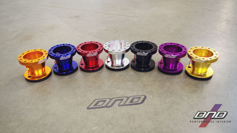 DND Performance: CNC Steering Wheel Hub Adapter (Nissan Fitment)