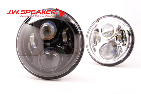"JW Speaker 8700 Evolution 2 Headlights (7"" Round) - DropGearz Motorsports"
