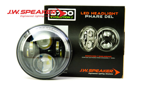JW Speaker 8700 Evolution J Headlights (JEEP) - DropGearz Motorsports