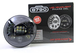 "JW Speaker 8790A Dynamic LED Headlight 7"" Round - DropGearz Motorsports"